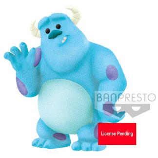 Figura Sulley Fluffy Puffy Monsters, Inc. Pixar 5cm