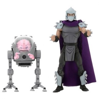 Set figuras Shredder & Krang Teenage Mutant Ninja Turtles 18cm