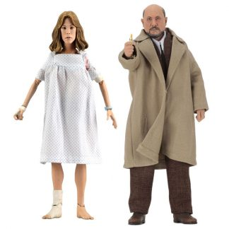 Pack 2 figuras articuladas Doctor Loomis and Laurie Strode Halloween 2 20cm