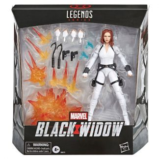 Figura Viuda Negra Legends Series Marvel