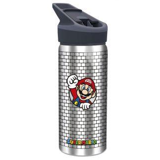 Cantimplora aluminio Super Mario Bros Nintendo