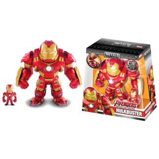 Set 2 figuras metal Iron Man Marvel
