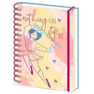 Cuaderno A5 Nothing Can Stop Me Mulan Disney