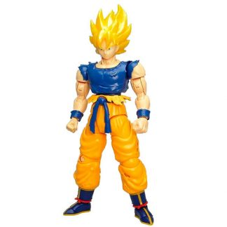 Figura Son Goku Super Saiyan Model Kit Dragon Ball Z 15cm