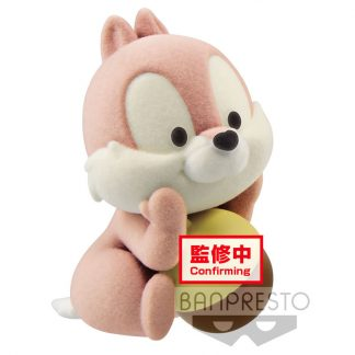 Figura Chip Chip and Dale Fluffy Puffy Disney 6cm