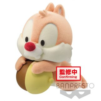 Figura Dale Chip and Dale Fluffy Puffy Disney 6cm