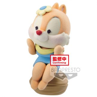 Figura Clarice Chip and Dale Fluffy Puffy Disney 6cm