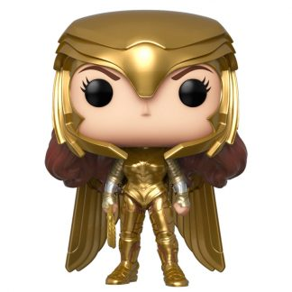 Figura POP DC Wonder Woman 1984 Wonder Woman Gold Power Pose