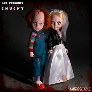 Pack figuras Chuky and Tifanny Living Dead Dolls 25cm