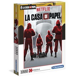 Puzzle High Quality La Casa de Papel 1000pcs