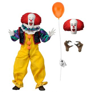 Figura articulada Pennywise Stephen King It 1900 20cm