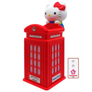 Cargador inalámbrico Cabina Londres Hello Kitty