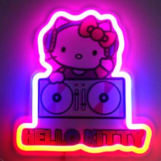 Lámpara mural neón Neon Hello Kitty