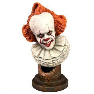 Busto Pennywise It Legends in 3D 25cm