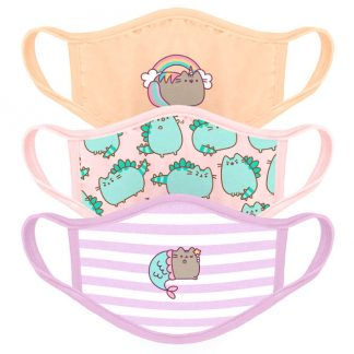 Pack 3 mascarillas reutilizables Pusheen