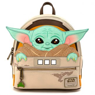 Mochila Yoda Child Mandalorian Star Wars Loungefly 26cm