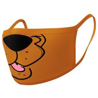 Pack 2 cubre mascarillas reutilizables premium Scooby Doo