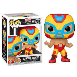 Figura POP Marvel Luchadores Iron Man